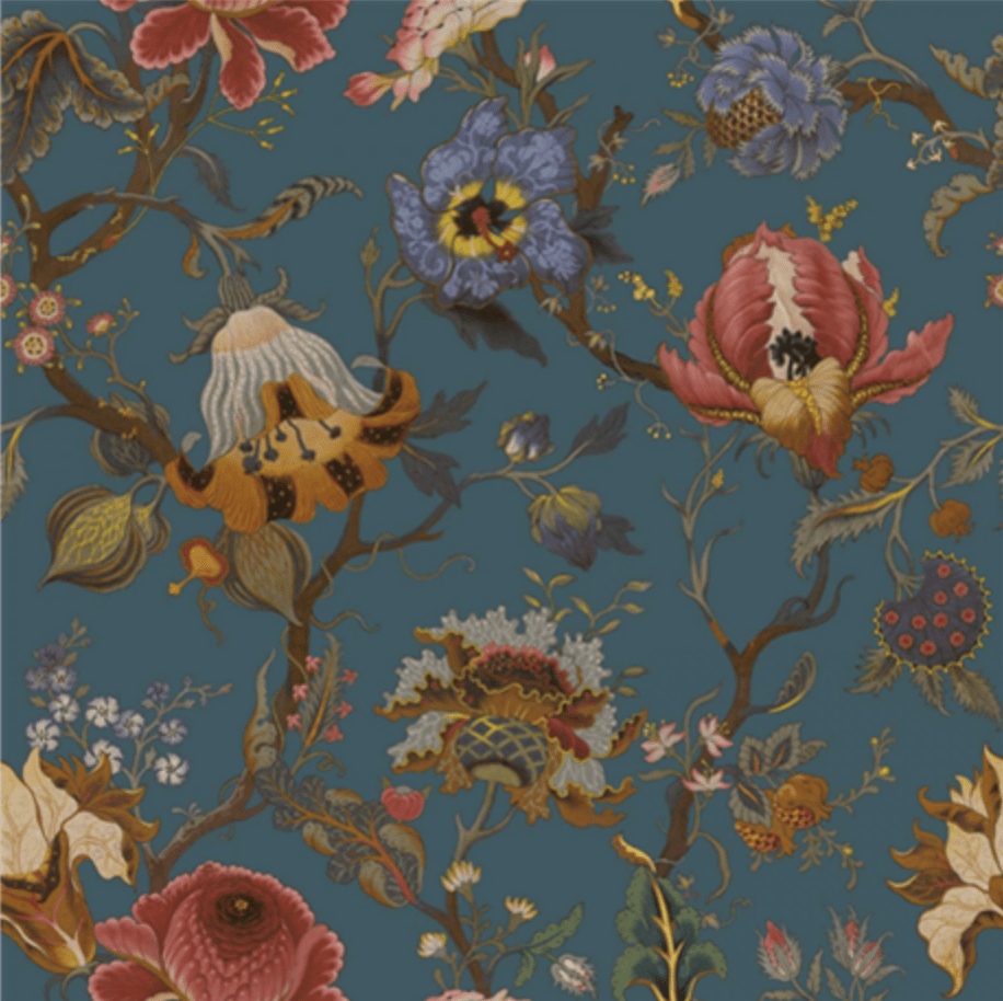 House of Hackney Artemis Petrol Wallpaper Pre-order