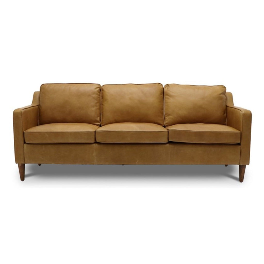 Ralph Leather 3 Seater Sofa - Pre Order