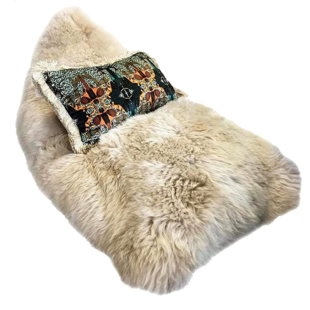Classic Sheepskin Lounger in a variety of colours