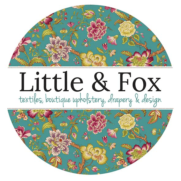 Little and Fox -  fabric upholstery and interior design boutioque