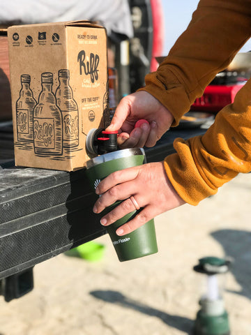 Camping with cold brew