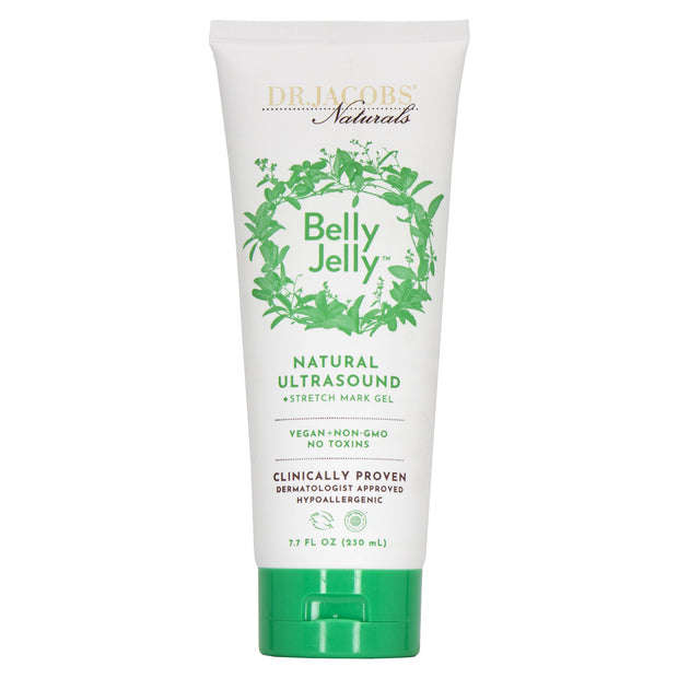 **NEW** EWG Verified™ Belly Jelly™ Ultrasound & Stretch Mark Gel - Dr. Jacobs Naturals