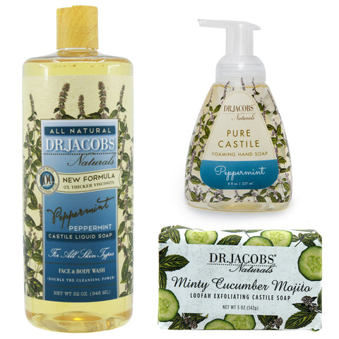 **NEW** Cool Mint Luxury Set - Dr. Jacobs Naturals