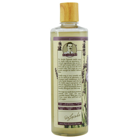 Pure Castile Liquid Soap - Lavender - Dr. Jacobs Naturals
