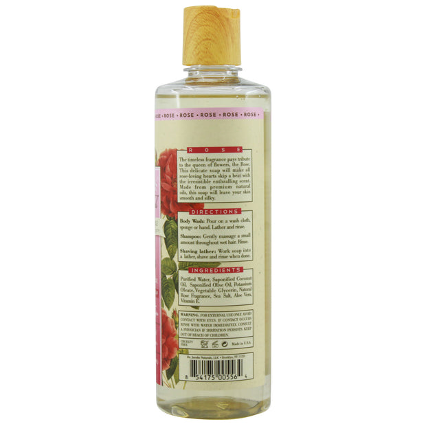 Pure Castile Liquid Soap - Rose - Dr. Jacobs Naturals
