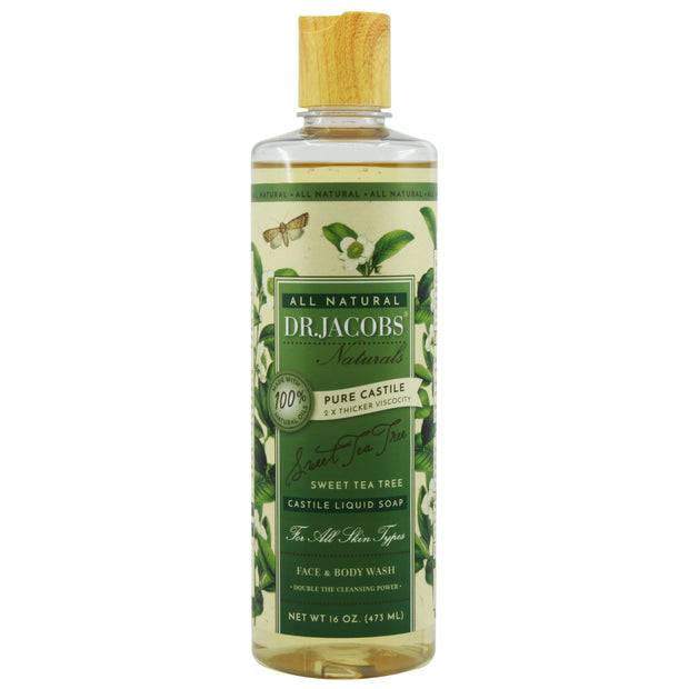 Pure Castile Liquid Soap - Sweet Tea Tree - Dr. Jacobs Naturals