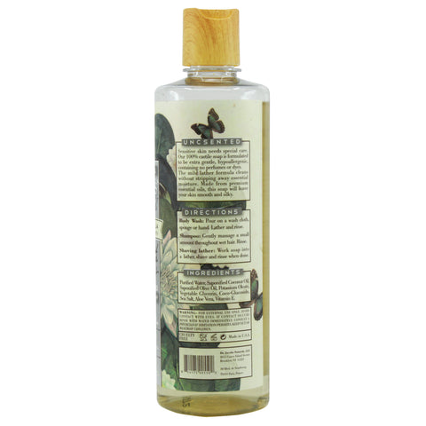 Pure Castile Liquid Soap - Unscented - Dr. Jacobs Naturals