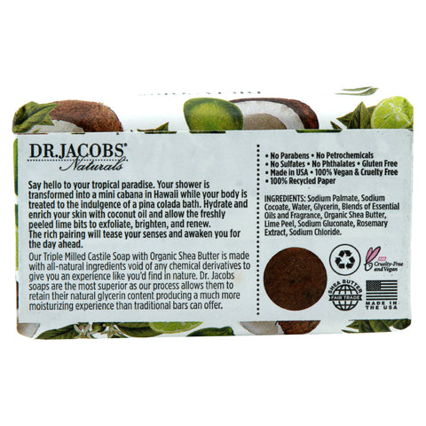 Coco Loco Limeade Bar Soap - Dr. Jacobs Naturals