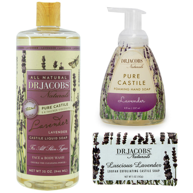 **NEW** Lavender Luxury Set - Dr. Jacobs Naturals