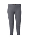 Ladies Cropped Legging Steel Grey