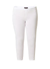 Ladies Cropped Legging White