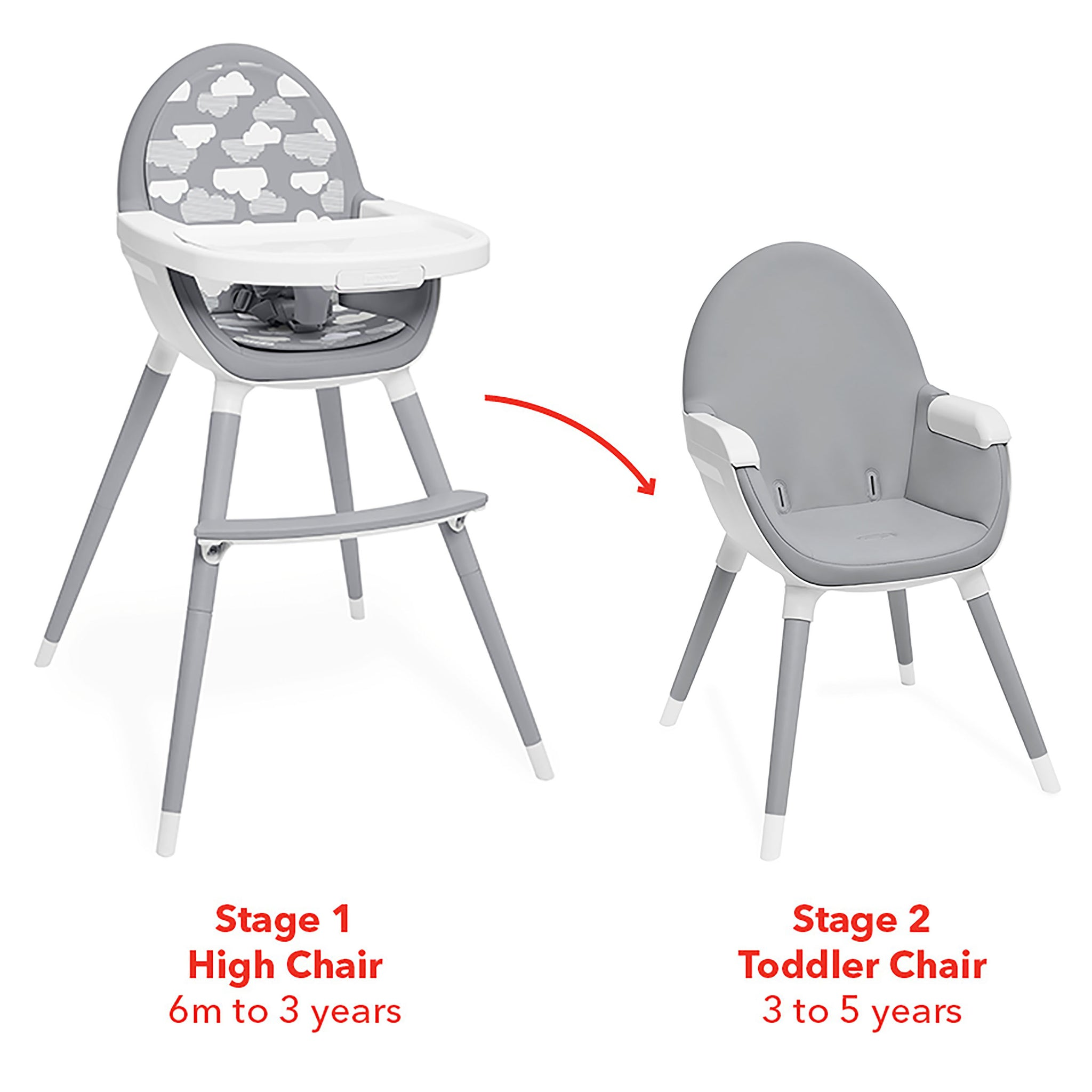 free nuna high buy shipping products chair graphite zaaz convertible online carbon