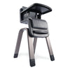 Zaaz High Chair Pewter