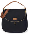 Curve Diaper Bag Satchel Black