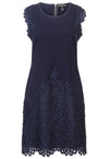 Dress with Lace Applique