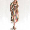 Women's Daphne Dress | Fiesta Stripe