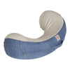Natural Curve Nursing Pillow Vintage Blue