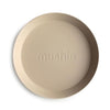 Round Dinnerware Plates, Set of 2 (Vanilla)