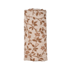 Magnolia Tree Swaddle Brown