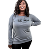 Ladies Pullover Blue Slate I will