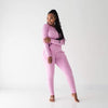 Women's Jogger Pajama Set in Bubblegum