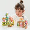 Pop-out and build fairies playset