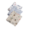 Cotton Muslin Swaddle 3 Pack Shark Set