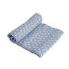 Cotton Muslin Swaddle Single Blue Grass