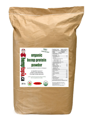 Hemp Protein Powder 25lb sack