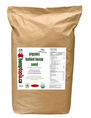 Hulled Hemp Seeds 25 lb bag