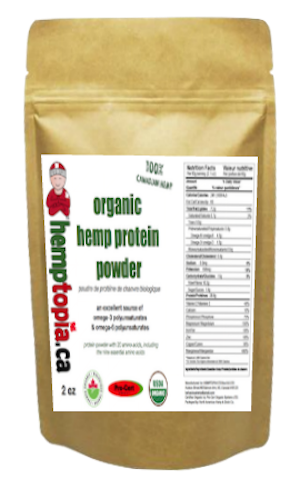 Hemp Protein Powder 2 oz