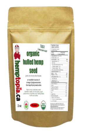 Hulled Hemp Seeds 2 oz