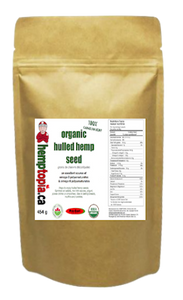 Hulled Hemp Seeds 454 g bag
