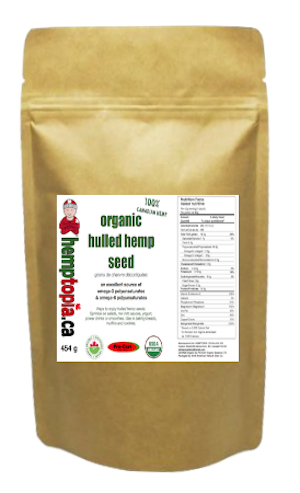 Hulled Hemp Seeds 454 g