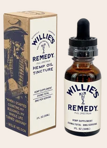 Willie's Remedy Full Spectrum Hemp Oil Tincture 250MG, 1 fl oz (8mg)