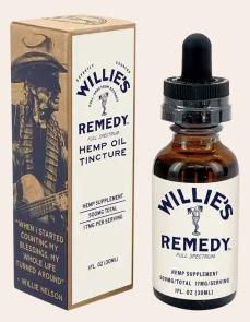 Willie's Remedy Full Spectrum Hemp Oil Tincture 500MG, 1 fl oz (17mg)
