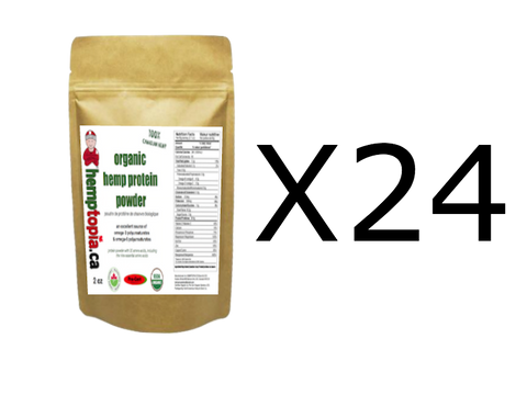 Hemp Protein Powder 2 oz (x24)