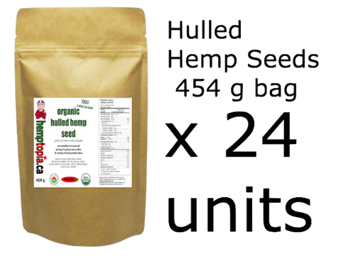 Hulled Hemp Seeds 454g (x24)