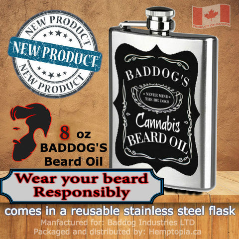 Baddog's Cannabis Beard Oil