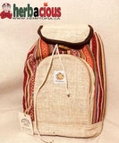 100% Hemp Drawstring Back Pack(natural)