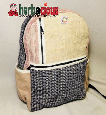 100% Hemp Traveler Back Pack