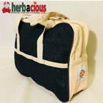 hemp kit bag (black)