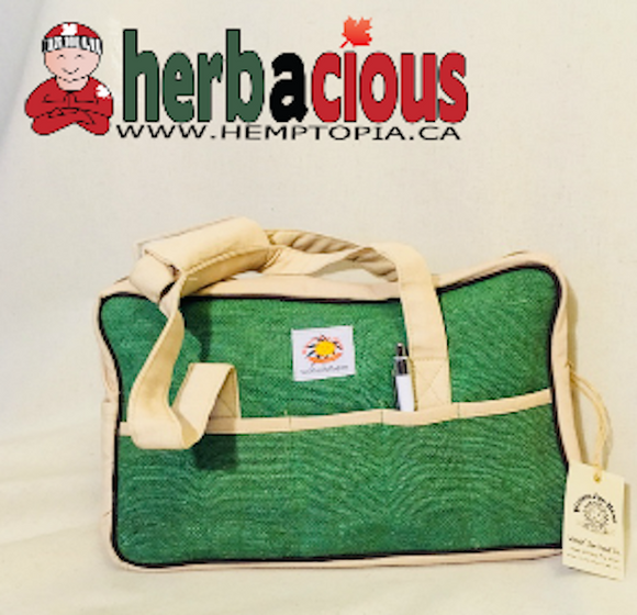 hemp kit bag (green)
