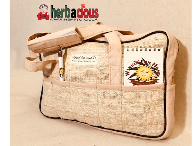 hemp kit bag (natural)