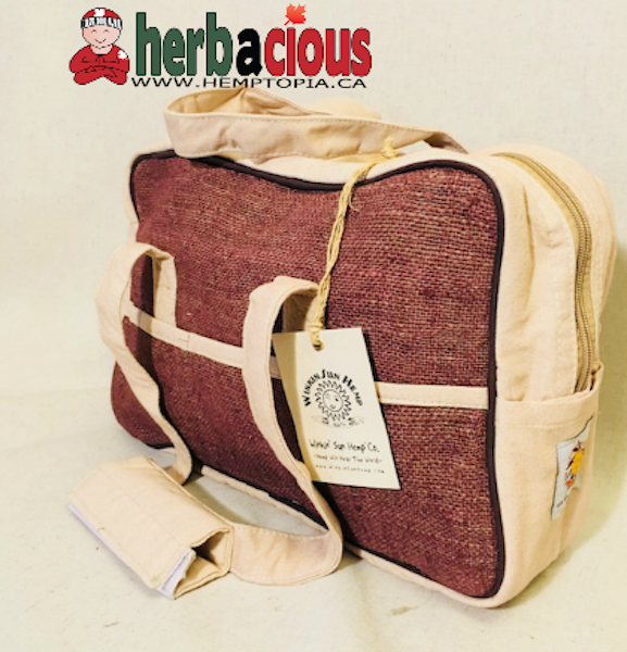 hemp kit bag (brown)