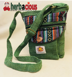Hemp Side Shoulder Bag (green)
