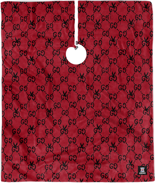 XL RED GG MONOGRAM