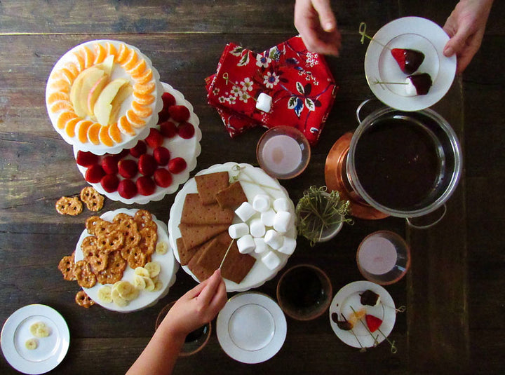 Date Night: Chocolate Fondue Recipe