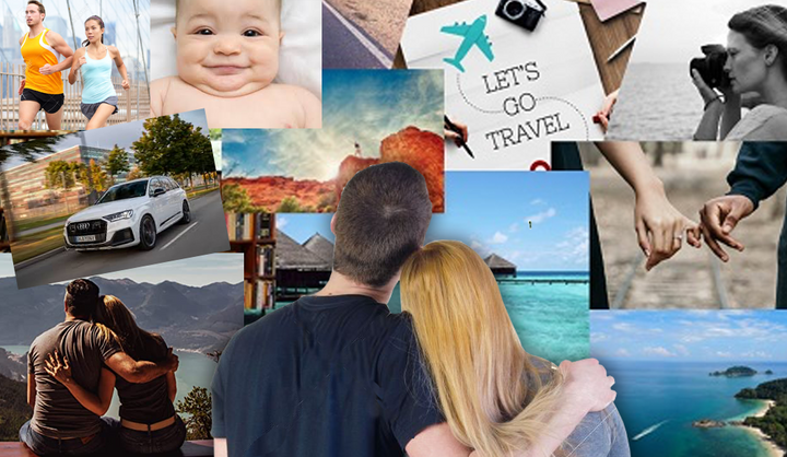 Create a Couples Vision Board