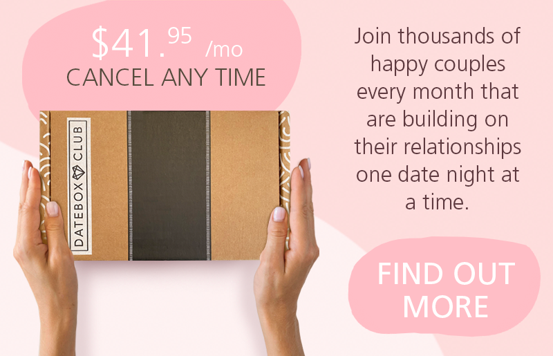 Join thousands of happy couples every month that are building on their relationships one date night at a time.